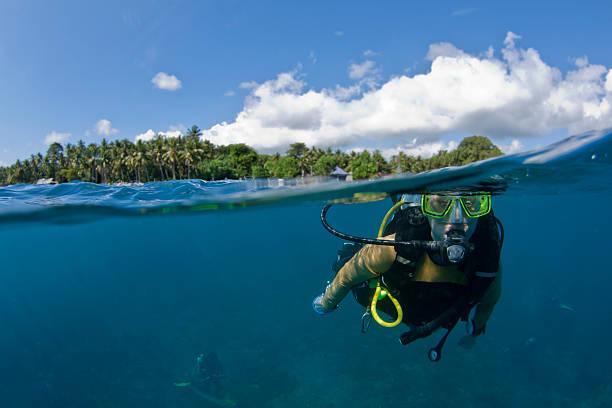 Plongée sous-marine à la surface - Photo