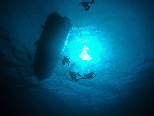Détail de plongeur sous-marin - Photo