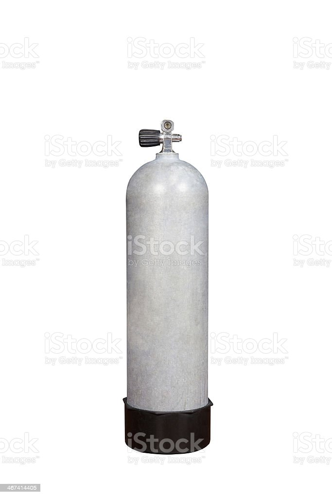 Scuba Diving Air Tank stock photo
