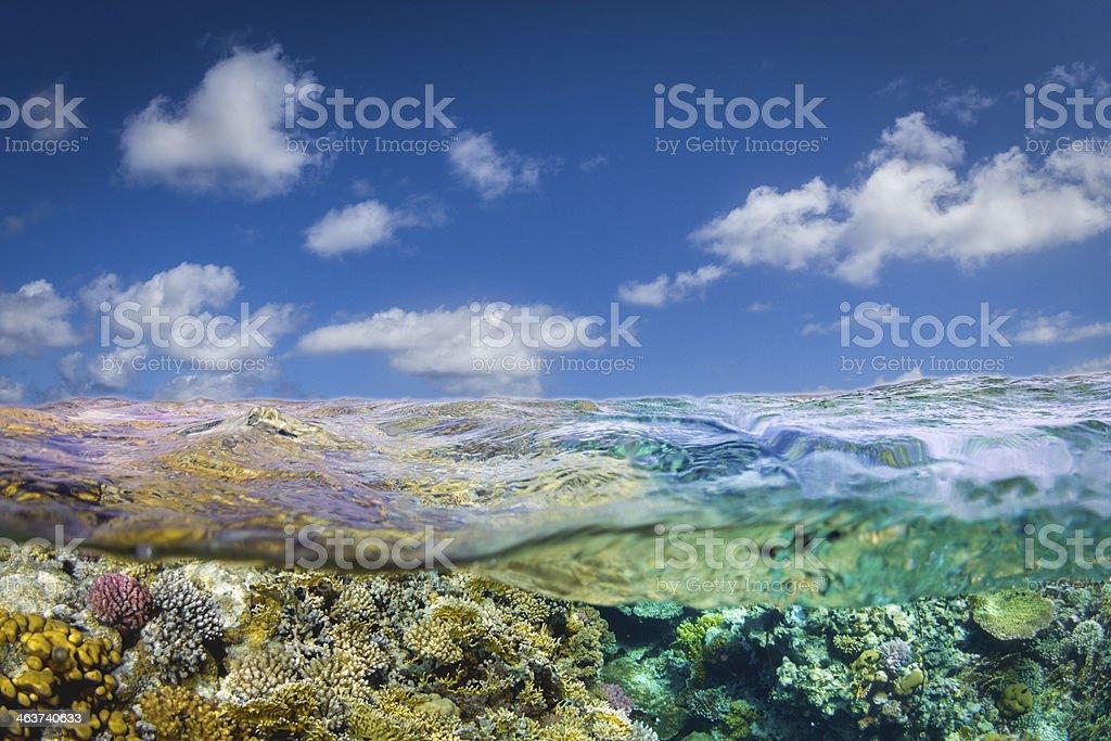 Scuba Diving Destination royalty-free stock photo