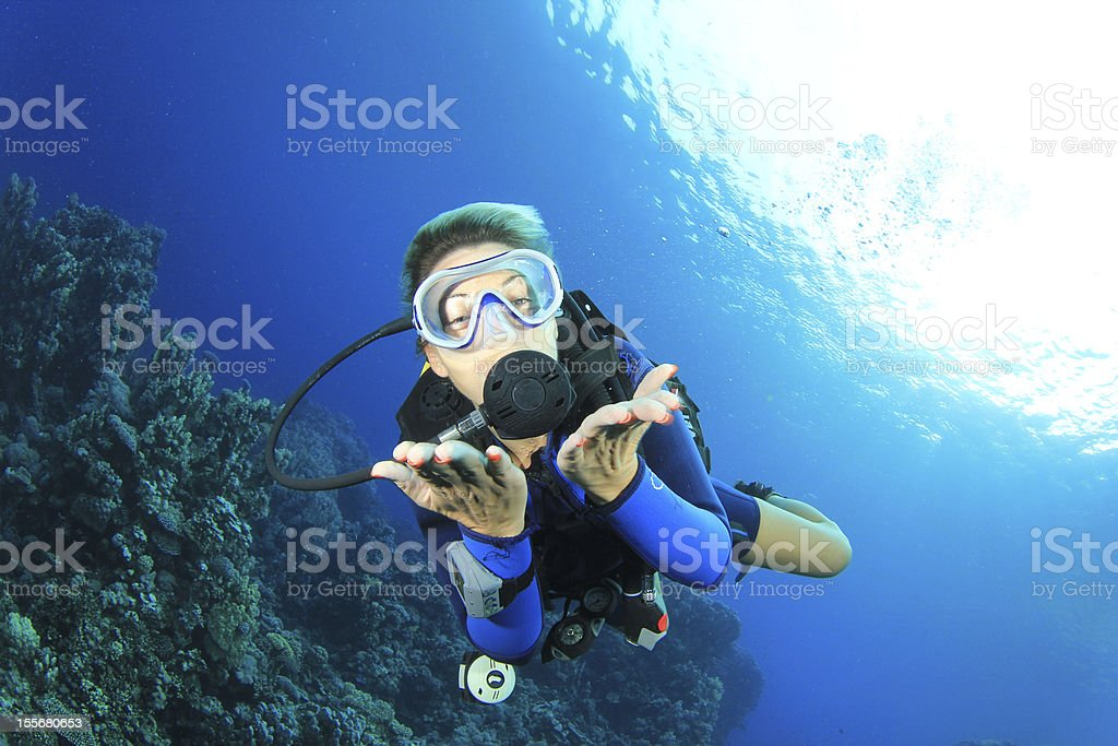 Scuba Diving royalty-free stock photo