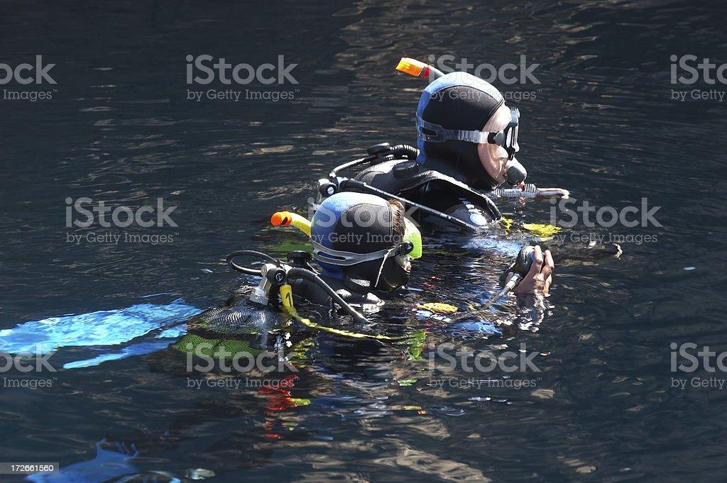 Scuba diving royalty-free stock photo