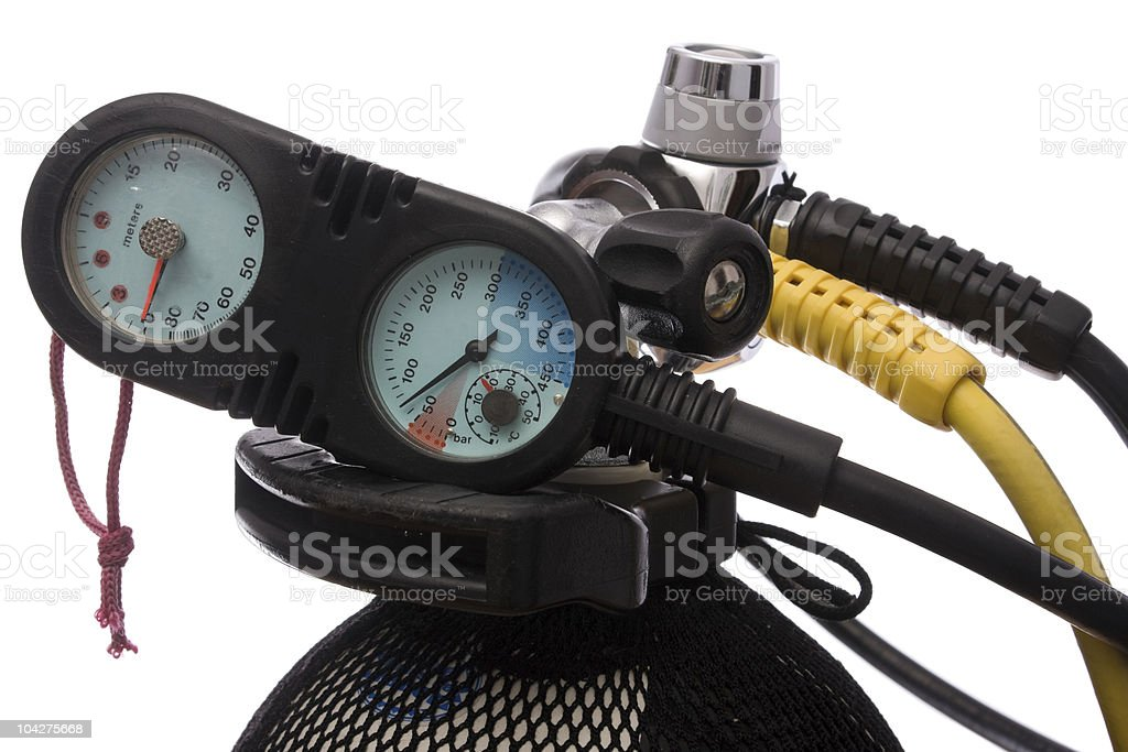 Scuba tank royalty-free stock photo