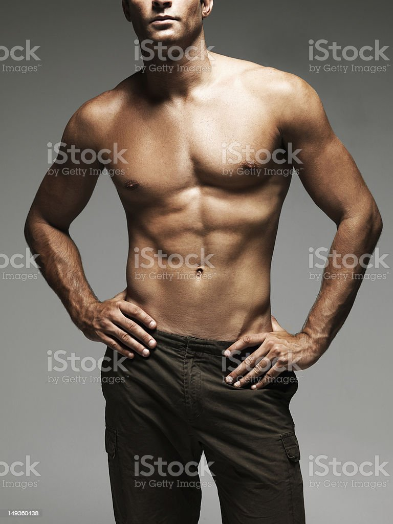 Sculpted by the gods stock photo