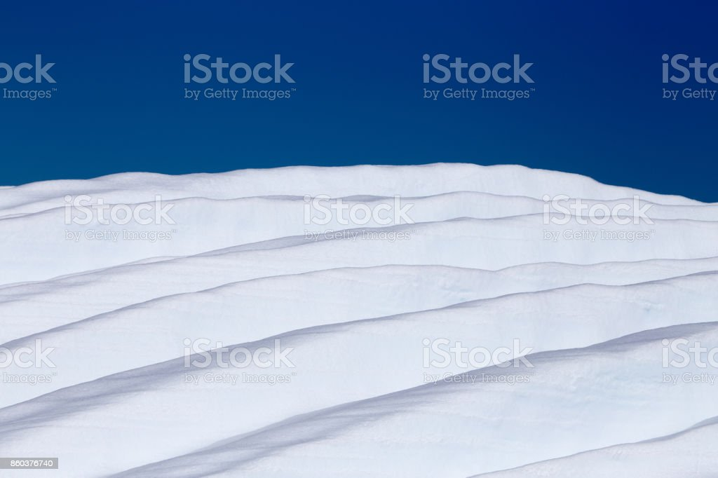 Sculpted Ice stock photo