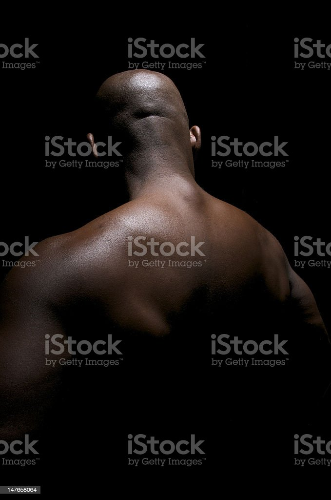Sculptural Back royalty-free stock photo