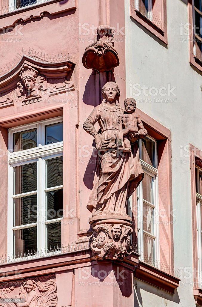 Sculpture in Mainz Стоковые фото Стоковая фотография