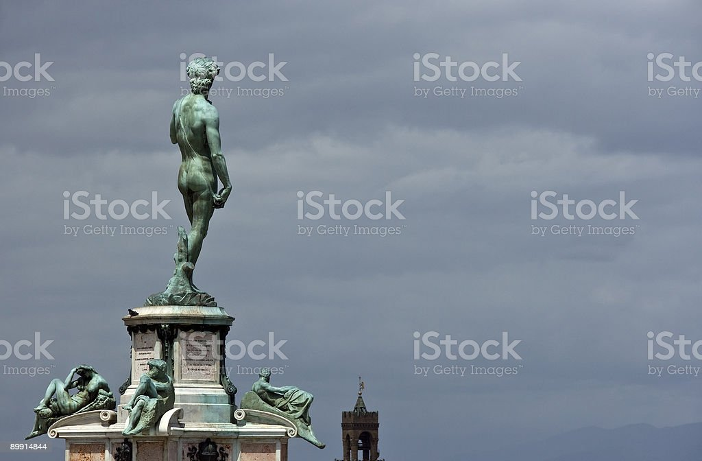 Sculpture of David royalty-free stock photo