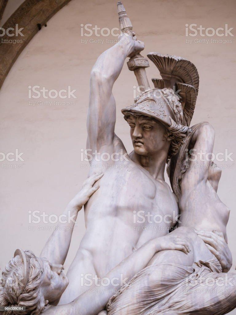 Skulptur von der Raub der Polyxena – Foto