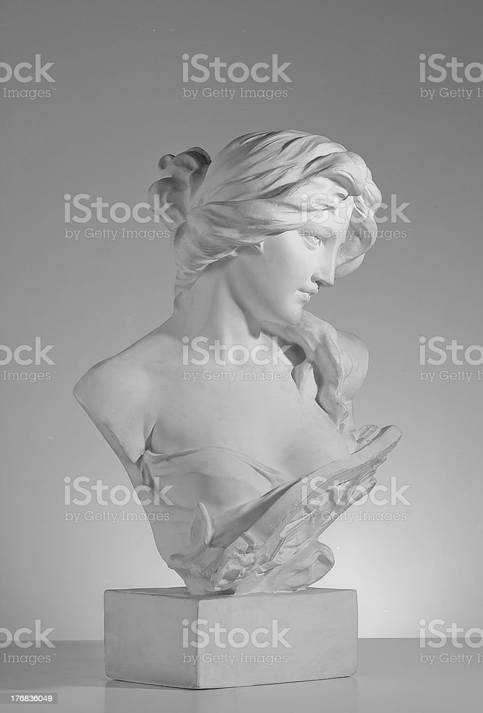 Sculpture stock photo