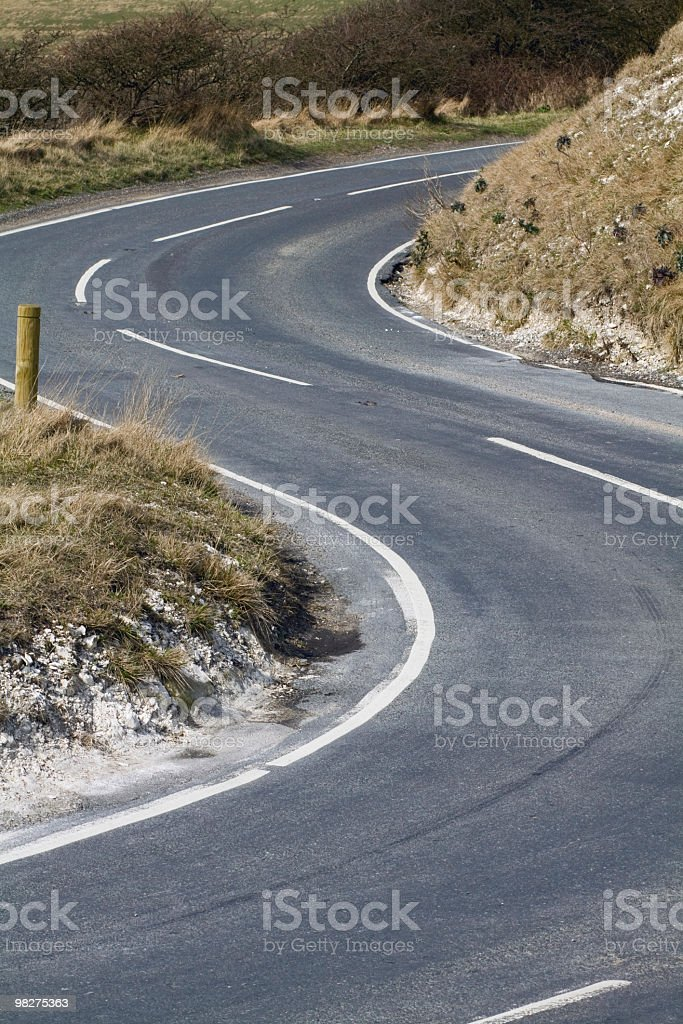 S-Curve royalty-free stock photo