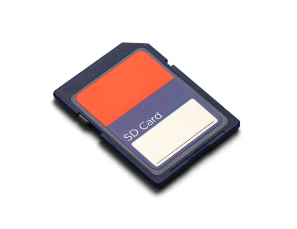 sd card side - memory card stock photos and pictures