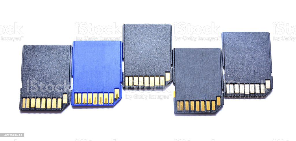 sd cards royalty-free stock photo