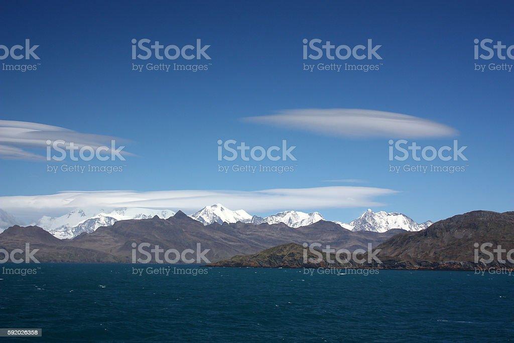 Südgeorgien stock photo