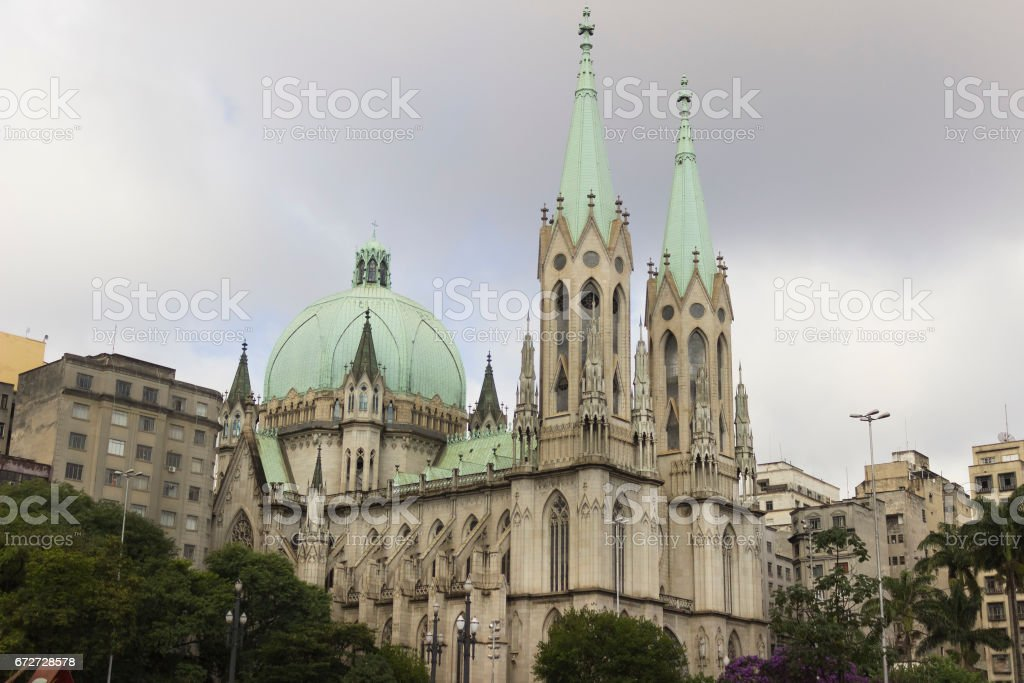 Se Cathedral stock photo