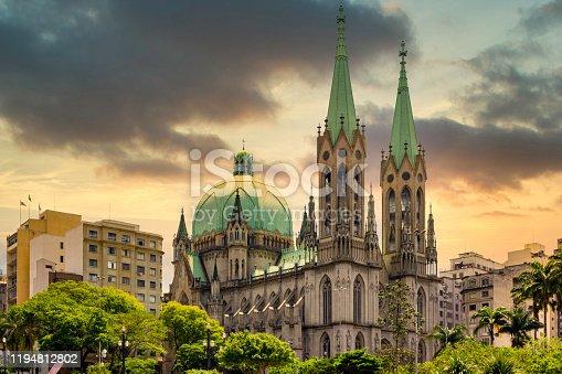 Se Cathedral - Sao Paulo - Brazil.