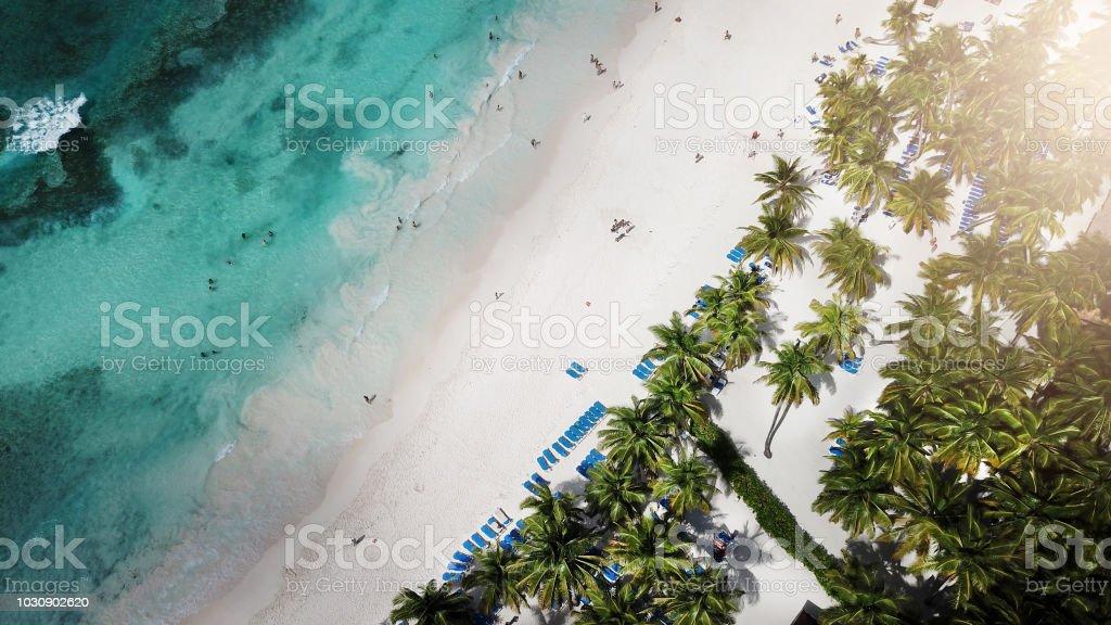 Vista Aérea De La Mar Impresionante Fondo De Naturaleza El Color Del