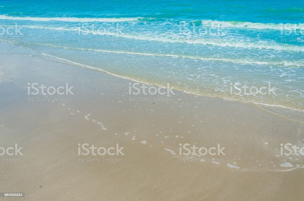 sea and beach - Royalty-free Bay of Water Stock Photo