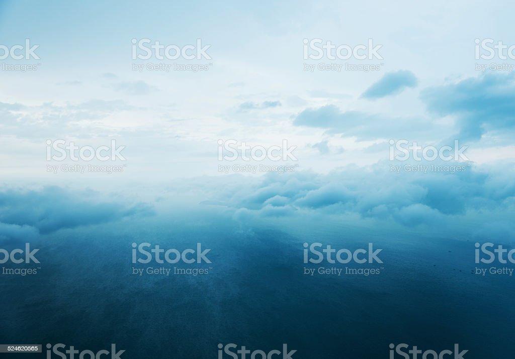 Meer und Wolken – Foto