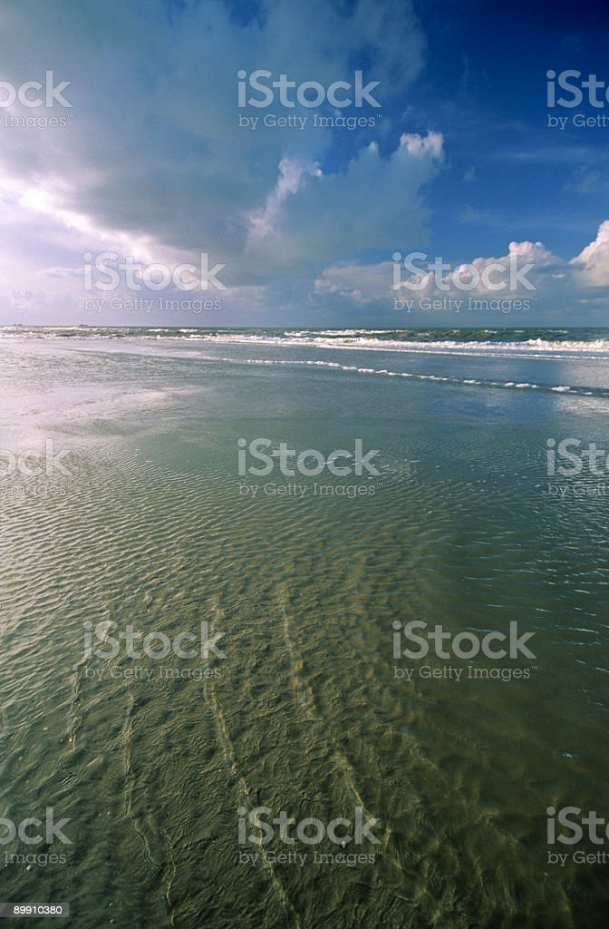 Sea and Clouds royalty-free stock photo