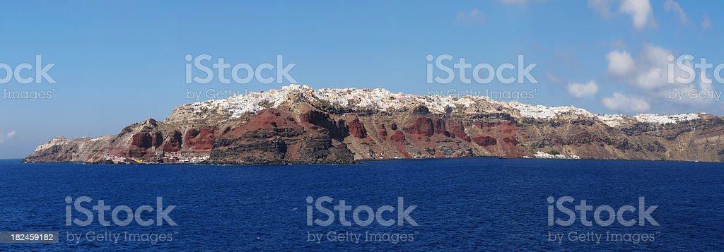 Sea and Land - XXXLarge royalty-free stock photo