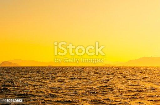 Sea and mountain