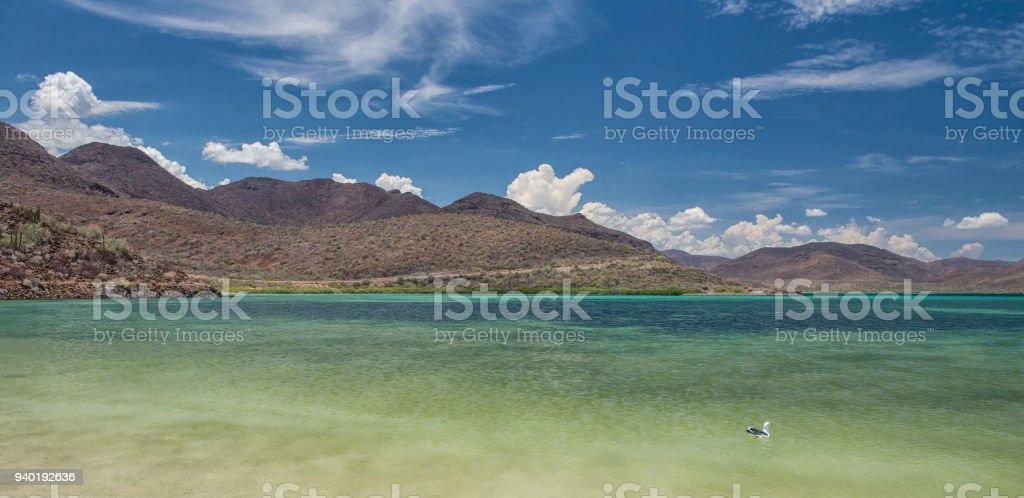Las montañas - foto de stock