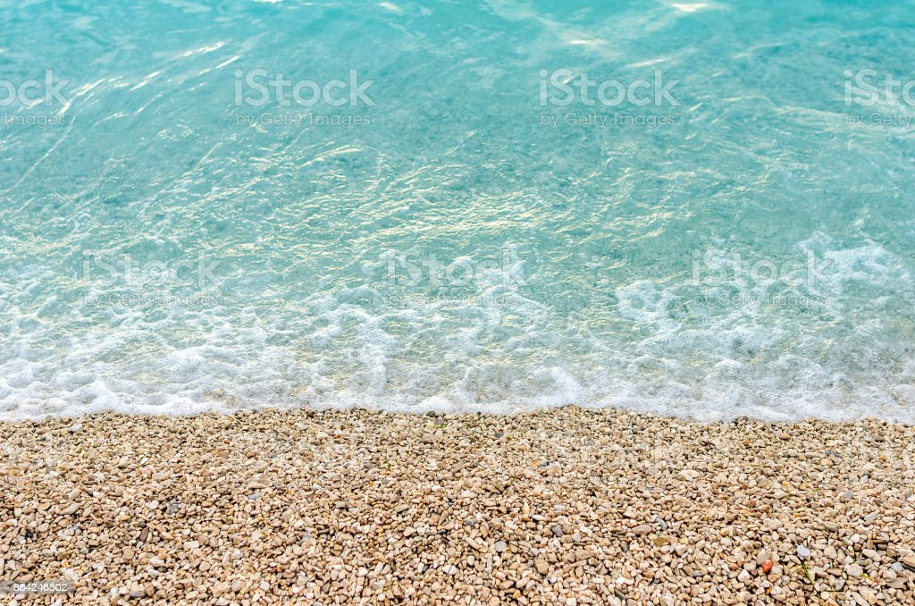 Sea and pebbles. royalty-free stock photo