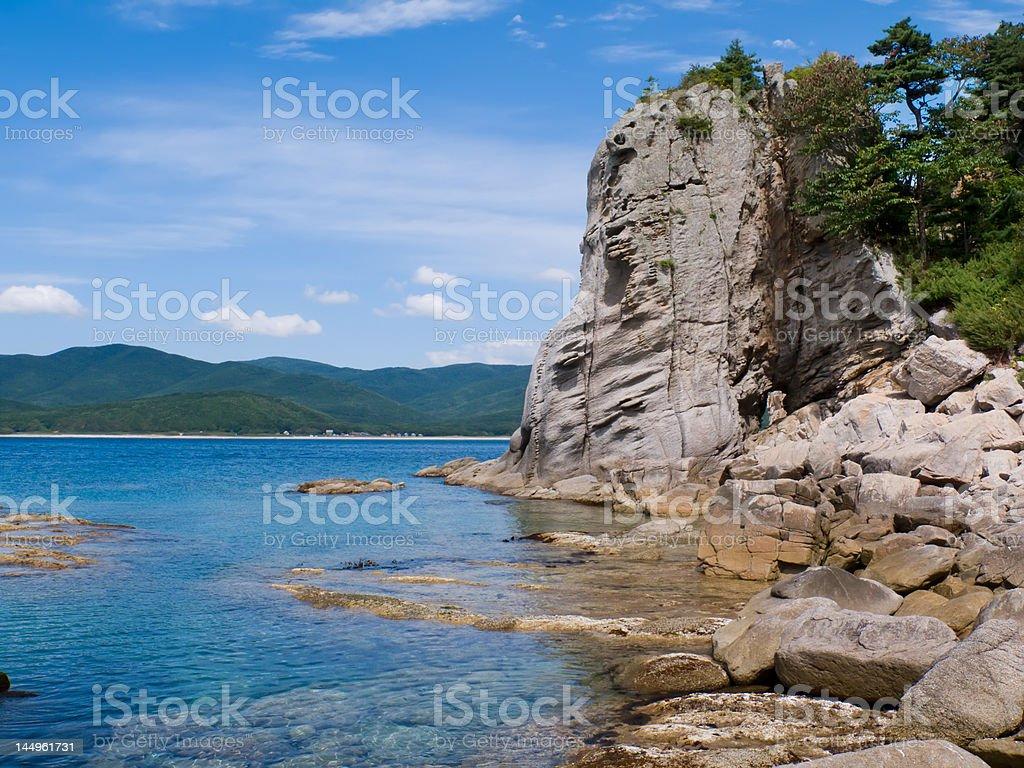 Sea and Rocks 6 stock photo