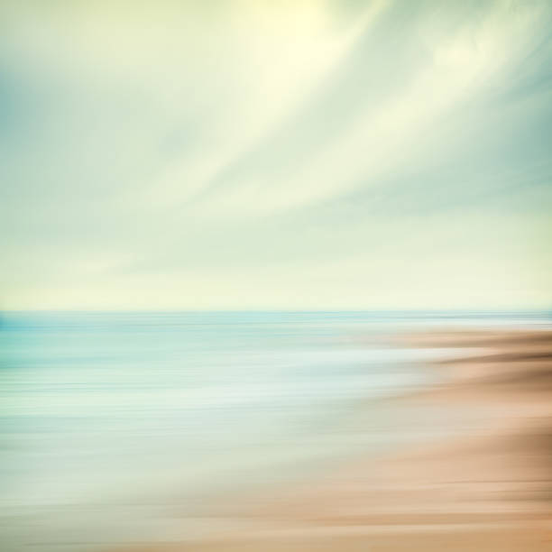 Sea and Sky Abstract stock photo