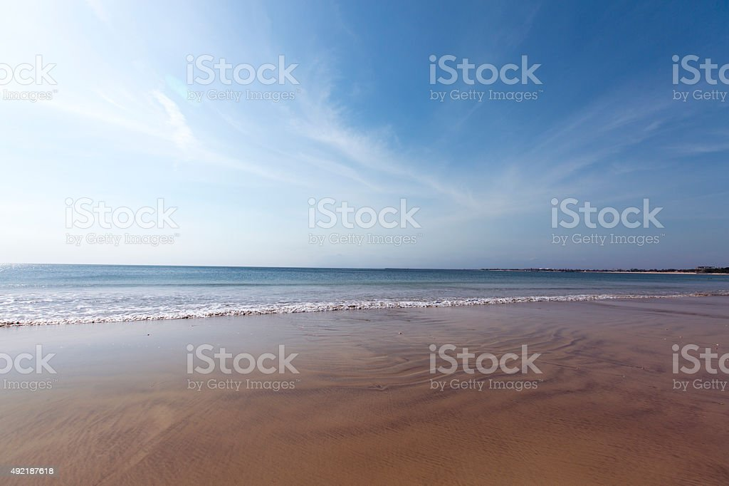 Sea and Sky Abstract stock photo