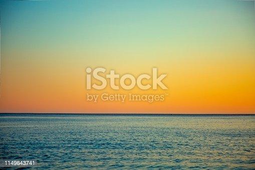 istock Sea and sky 1149643741