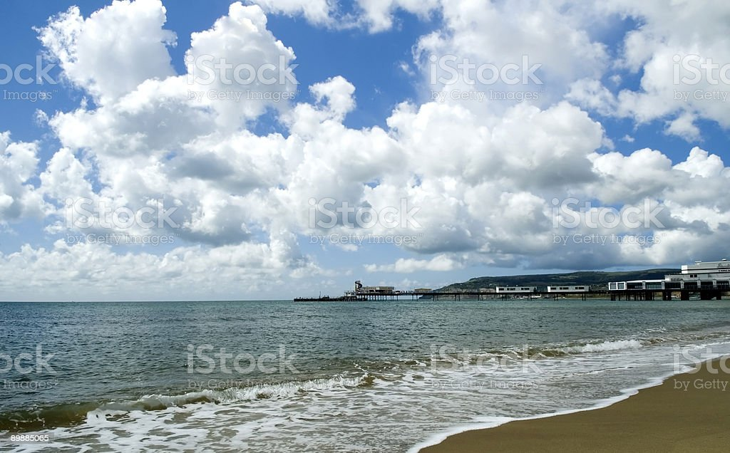 Sea and Sky royalty-free stock photo
