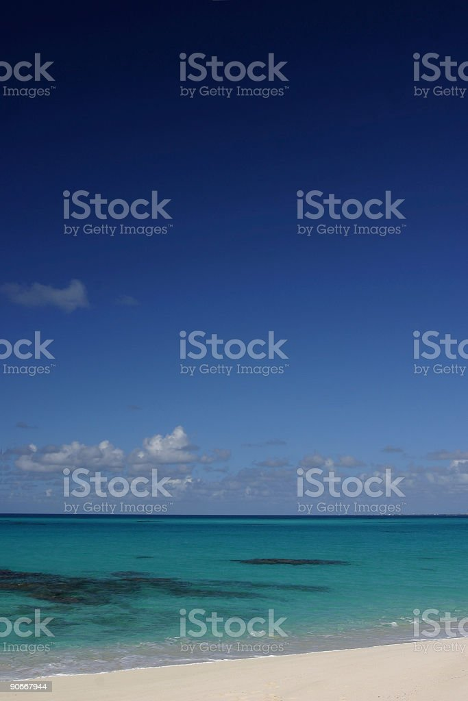 Sea and Sky stock photo