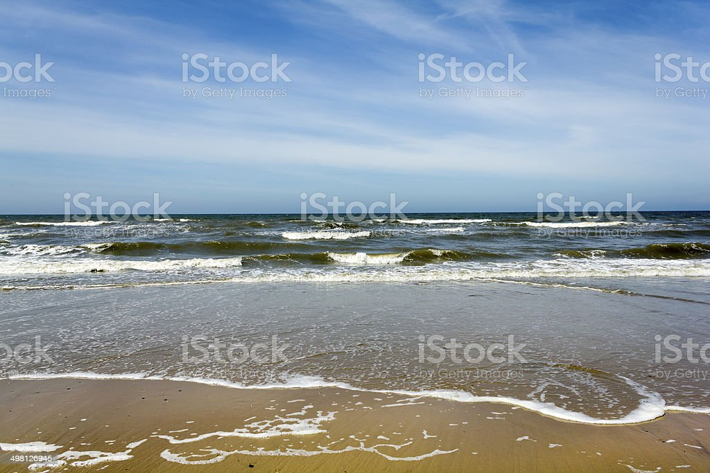 Sea and Surf stock photo