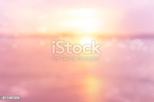 istock sea at sunset blurry background 811497326