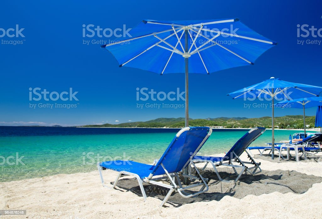 sea at the Greece royalty-free stock photo