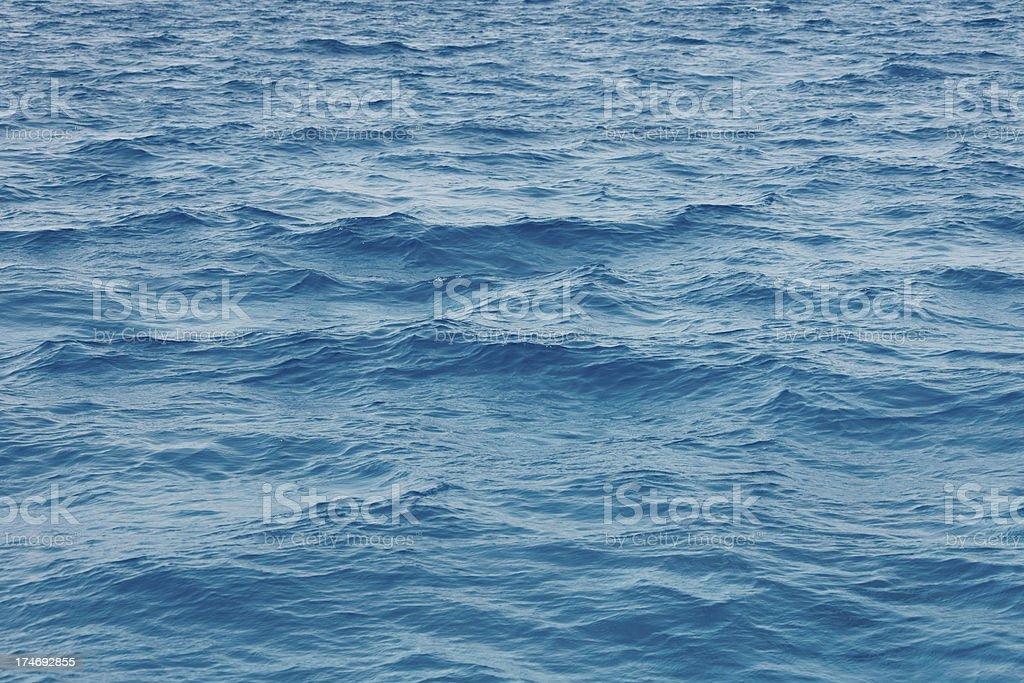 Sea Background royalty-free stock photo