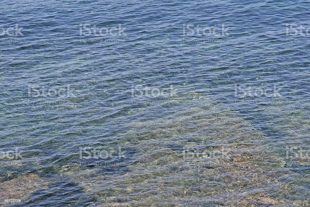 Sea Background royalty-free stock photo