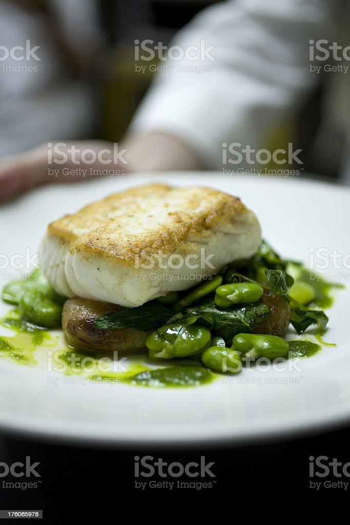 Sea bass royalty-free stock photo