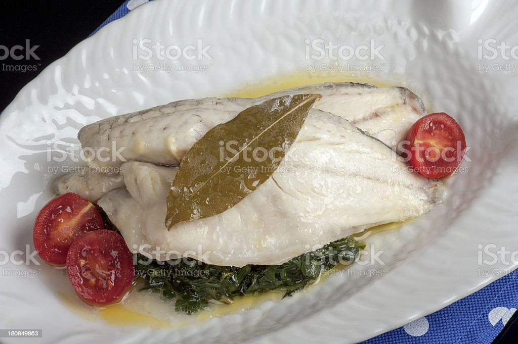 Sea Bass royalty-free stock photo