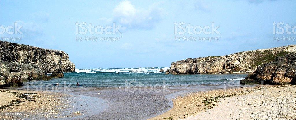 Sea bath royalty-free stock photo