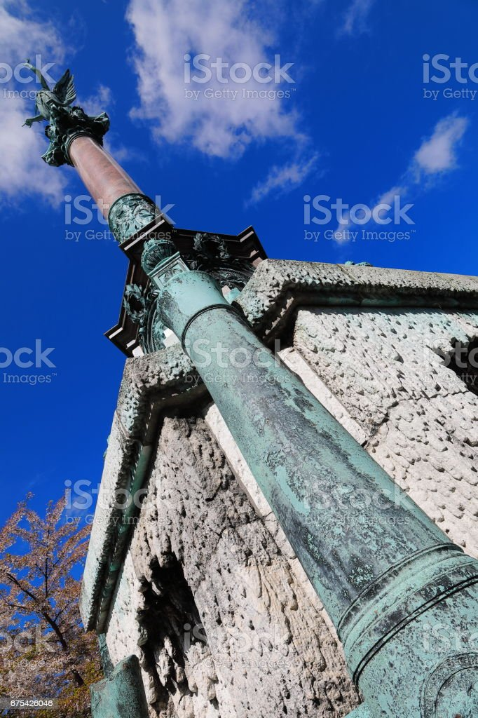La bataille de Køge Bugt 1710 monument, Copenhague photo libre de droits