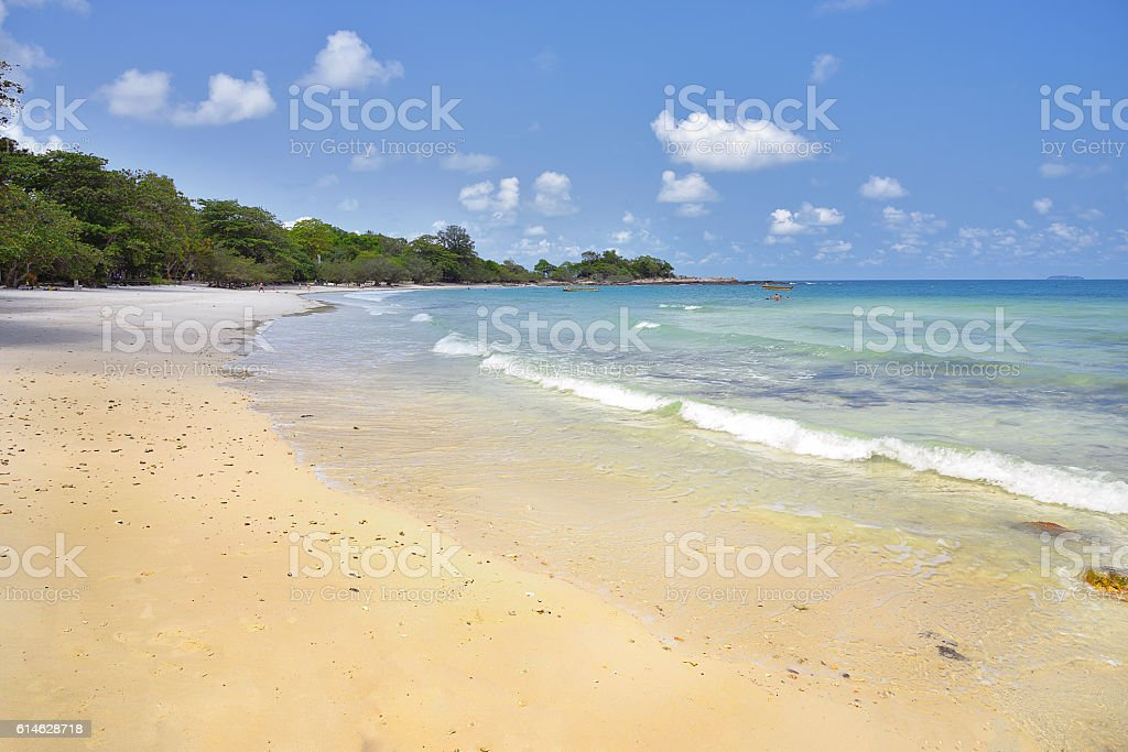 Sea beach, Koh samed, aoi wai, Rayong, Thailand stock photo