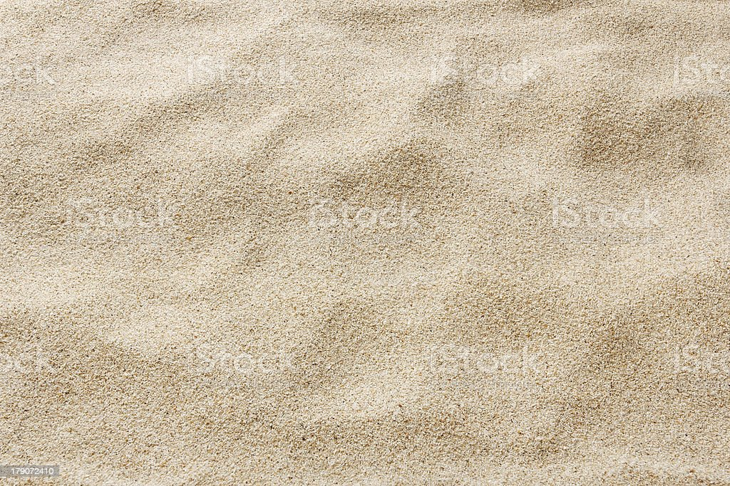 sea beach sand for texture and background stock photo