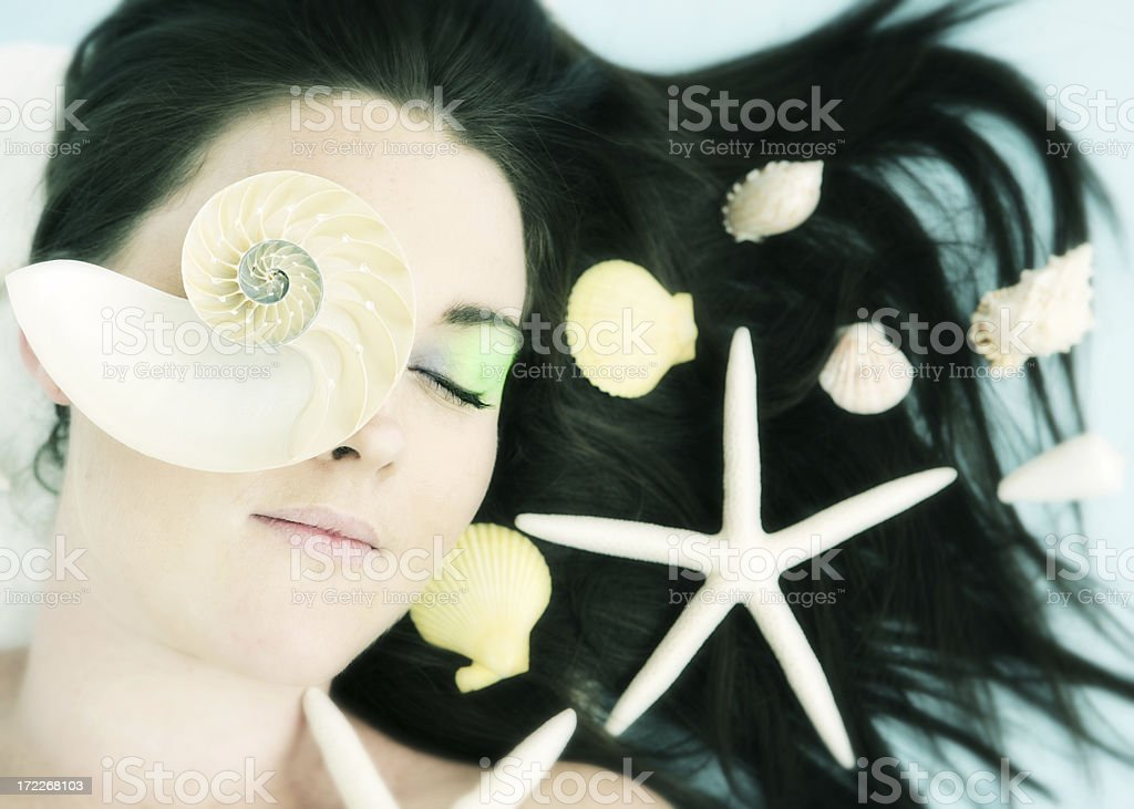 Sea beauty royalty-free stock photo