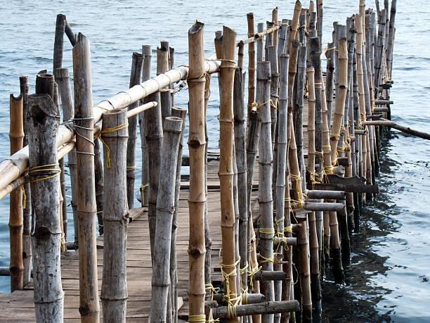 Mar bridge - foto de acervo