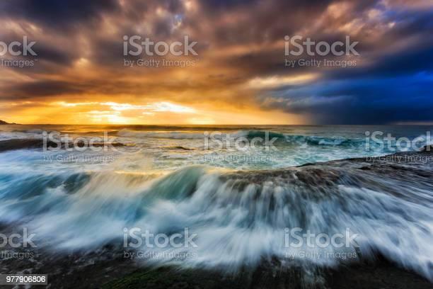 Photo of Sea Bungan Sunlight Clouds rise