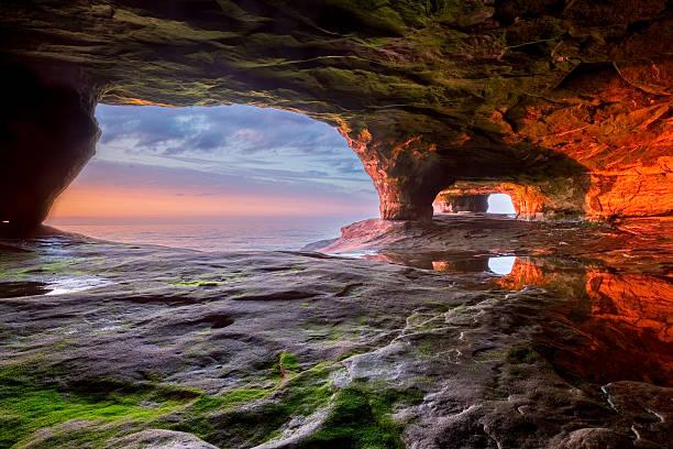 Sea Cave on Lake Superior