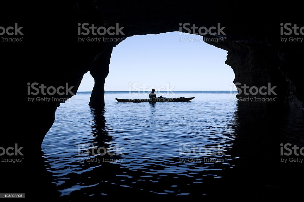 Sea Cave royalty-free stock photo